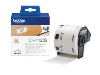 Brother DK11209 adresseetiketter 800 stk - 29 x 62mm - original