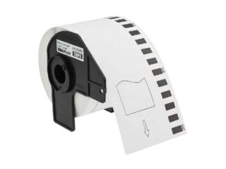 Brother DK22205 rulle termokopieringspapir - 6.2cm x 30.5m - Kompatibel - DK22205