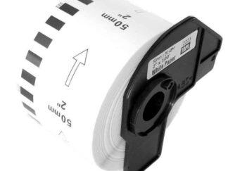 Brother DK22223 rulle kontinuerlige papir etiketter - 5cm x 30