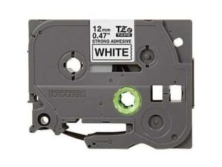 Brother TZeS231 Tape sort tekst på hvid - 12mm x 8m - Kompatibel
