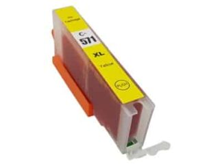 Canon CLI-571XLY gul blækpatron 13ml - Kompatibel