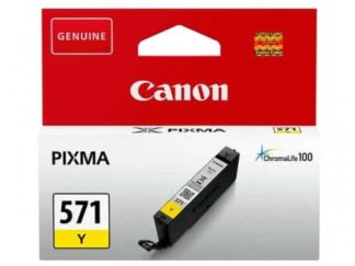 Canon CLI-571Y gul blækpatron 7ml - 571Y - original