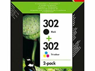 Combo pack! HP 302 sort blækpatron 7.5 ml - X4D37AE - original