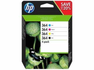 Combo pack! HP 364 BK-C-M-Y blækpatron - N9J73AE - original