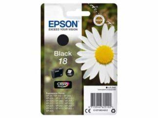 Epson 18 sort blækpatron 5