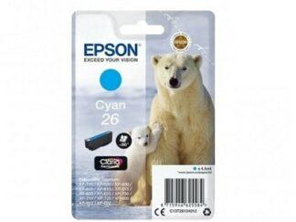 Epson 26 cyan blækpatron 4