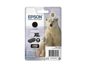 Epson 26XL sort blækpatron 12