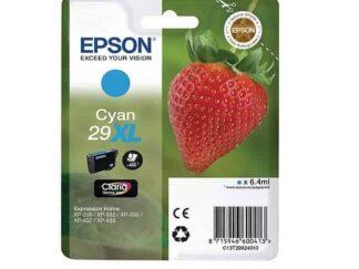 Epson 29XL cyan blækpatron 6