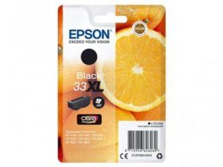 Epson 33XL sort blækpatron 12