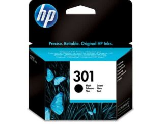 HP 301 sort blækpatron 3 ml  - CH561EE - original