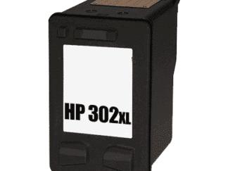 HP 302XL sort blækpatron 15 ml - F6U68AE - Kompatibel