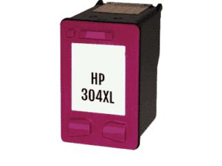 HP 304XL farve blækpatron 14 ml - N9K07AE#UUS - Kompatibel