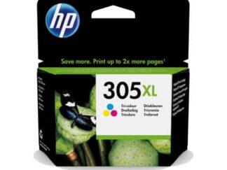 HP 305XL C-M-Y blækpatron 5 ml - 3YM63AE - original