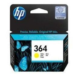 HP 364 gul blækpatron 3ml - CB320EE - original