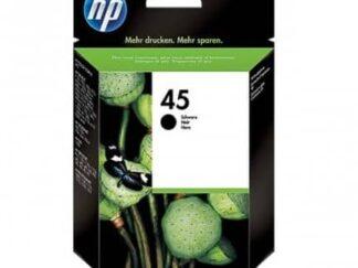 HP 45 sort blækpatron 42ml - 51645AE - original