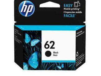 HP 62 sort blækpatron 4ml - C2P04AE#UUS - original