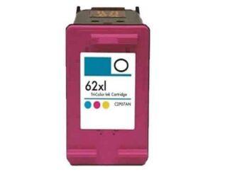 HP 62XL farve blækpatron 17 ml - C2P07AE#UUS - Kompatibel