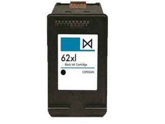 HP 62XL sort blækpatron 18 ml - C2P05AE#UUS - Kompatibel