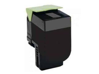 Lexmark 800S1/802SK/802SKE sort toner 2.500 sider - Kompatibel
