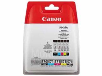 Multi pack! Canon PGI-570/CLI-571 BK-C-M-Y blækpatron 43ml - 0372C004 - original