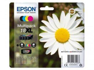 Multi pack! Epson 18XL BK-C-M-Y blækpatron - C13T18164010 - original