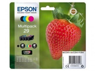 Multi pack! Epson 29 BK-C-M-Y blækpatron 14