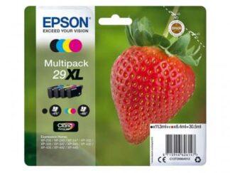 Multi pack! Epson 29XL BK-C-M-Y blækpatron 30