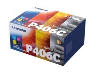 Multi pack! Samsung CLT-P406C BK-C-M-Y toner 4.500 sider - SU375A - original