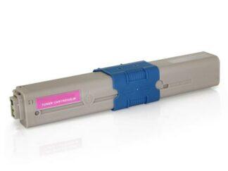 Oki 44973534 magenta toner 1500 sider - Kompatibel