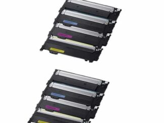 Rabat sæt! Samsung CLT-404S - 2 x 4 farver BK-C-M-Y - Kompatibel