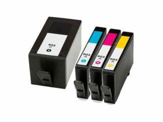 Rabat sæt! HP 903XL - 4 farver BK-C-M-Y - Kompatibel - 903XL - 69 ml