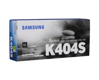 Samsung CLT-K404S sort toner 1.500 sider - CLT-K404S - original