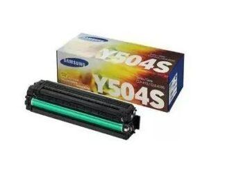 Samsung CLT-Y504S gul toner 1.800 sider - CLT-Y504S - original
