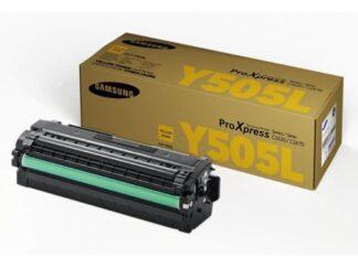 Samsung CLT-Y505L gul toner 3.500 sider - CLT-Y505L/ELS - original