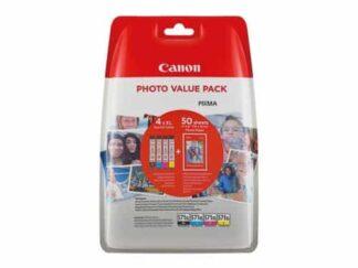 Value pack! Canon CLI-571XL BK-C-M-Y blækpatron 44ml - 0332C005 - original
