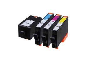 Rabat sæt! HP 934XL / 935XL - 4 farver BK-C-M-Y - Kompatibel
