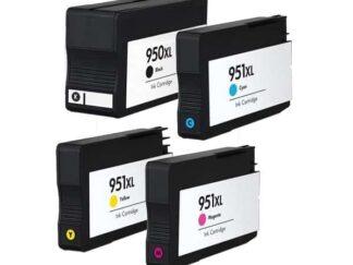 Rabat sæt! HP 950XL / 951XL - 4 farver BK-C-M-Y - Kompatibel