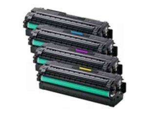 Rabat sæt! Samsung CLT-505L - 4 farver BK-C-M-Y - Kompatibel