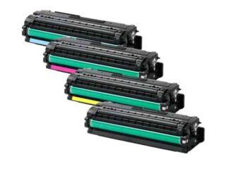 Rabat sæt! Samsung CLT-C506L - 4 farver BK-C-M-Y - Kompatibel