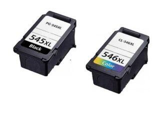Rabat sæt! Canon PG-545XL / Cl 546XL - 1 x Sort 1 x Farve - Kompatibel