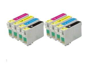 Rabat sæt! Epson 18XL - 2 x 4 farver BK-C-M-Y - Uoriginal
