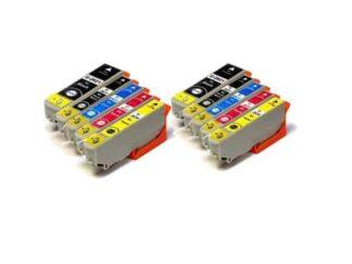 Rabat sæt! Epson 26XL - 2 x 5 farver PBK-BK-C-M-Y - Uoriginal