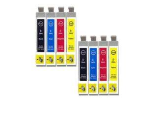 Rabat sæt! Epson 29XL - 2 x 4 farver BK-C-M-Y - Uoriginal