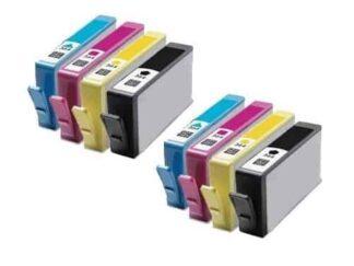Rabat sæt! HP 364XL - 2 x 4 farver BK-C-M-Y - Kompatibel