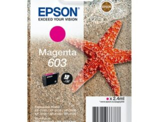 Epson 603 magenta blækpatron 2.4 ml |C13T03U34010| original