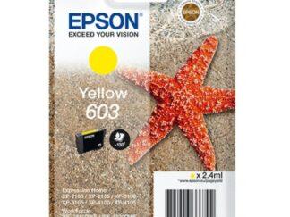 Epson 603 gul blækpatron 2.4 ml |C13T03U44010| original