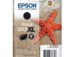 Epson 603XL sort blækpatron 8.9 ml |C13T03A14010| original
