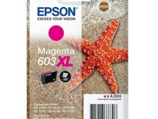 Epson 603XL magenta blækpatron 4 ml |C13T03A34010| original