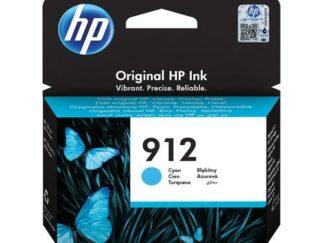 HP 912 cyan blækpatron 3 ml  3YL77AE  original