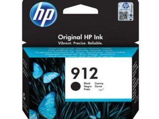 HP 912 sort blækpatron 8 ml  3YL80AE  original